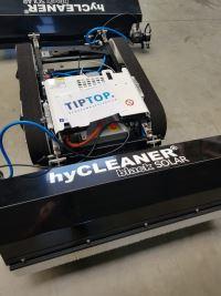 Zonnepanelen robot
